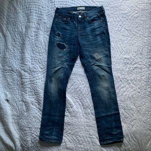 Madewell Distressed Slim Boy Jeans 24